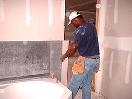 Installing Cement Boards
