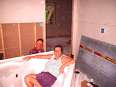 Installing The Tub