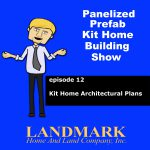 Kit home architectural plans