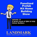 A great round of questions & answers to help Owner Builders