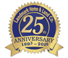 Landmark Home & Land Company 25 Years